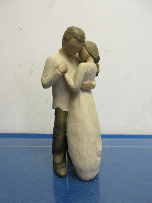 """Willow Tree """"Promise"""" statue of man & woman dancing, 9"""" tall"""
