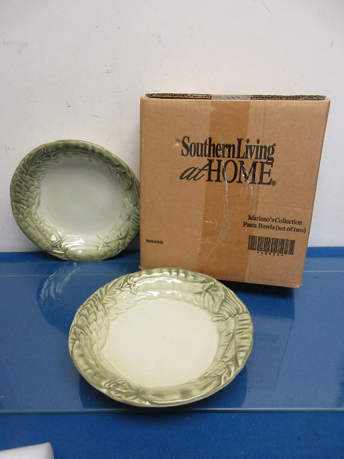 Southern Living at Home, mariano collection set of 2 pasta bowls