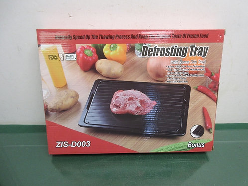 Defrosting tray with bonus drip tray - new in box