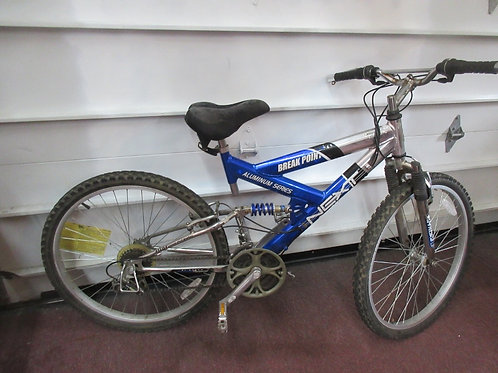 Breakpoint 7 speed blue/black, gray mountain bike