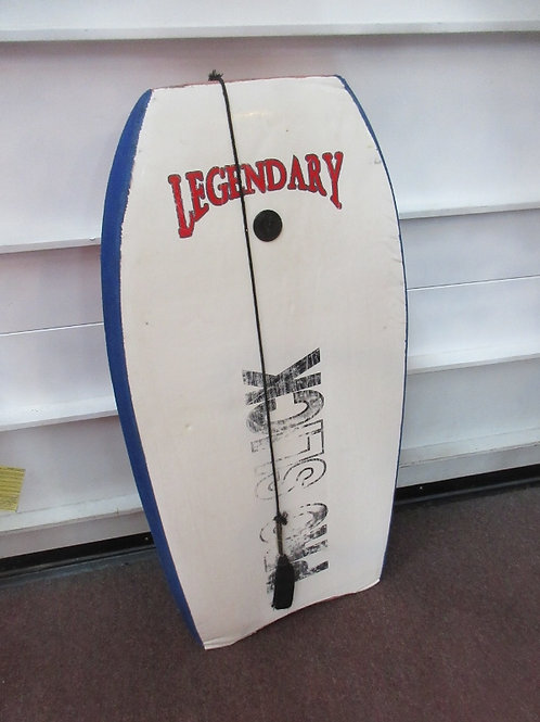 Pro slick-boogie board, blue and white,