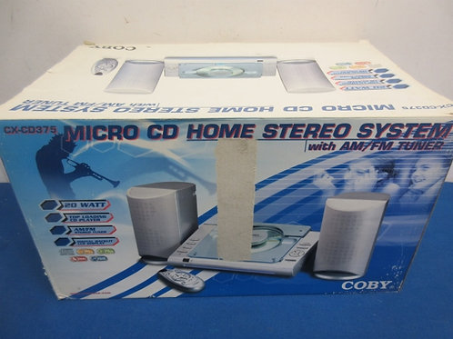 Micro CD home stereo system - new in box