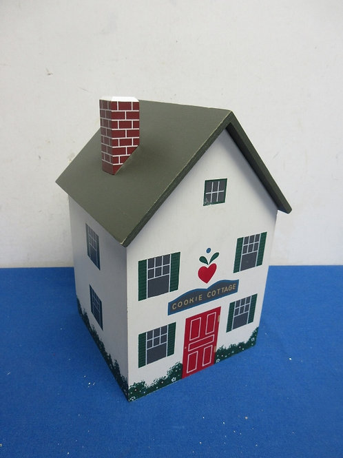 Cookie cottage house shaped cookie jar