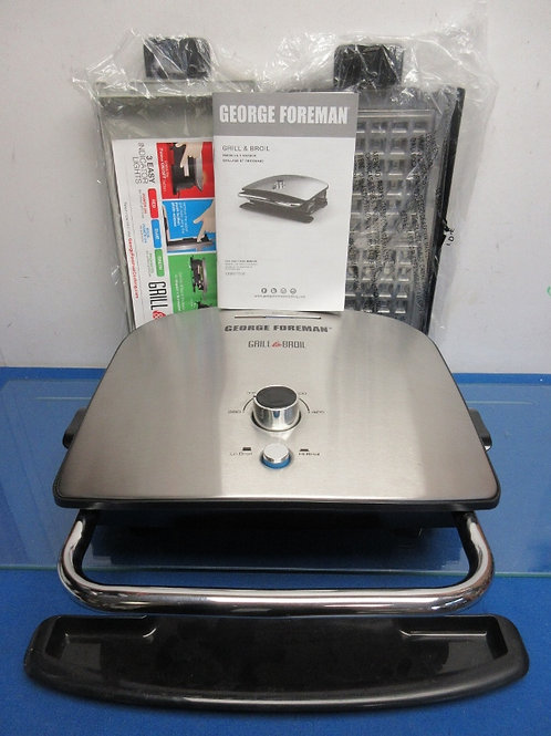 George Foreman nonstick 7-in-1 grill, broil & waffle maker