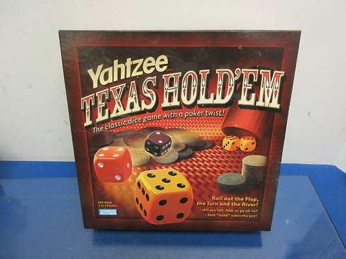 Yahtzee Texas classic dice game with a poker twist, Adult game