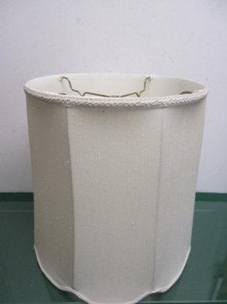 """Ivory lamp shade 12"""" diameter x 14""""high"""
