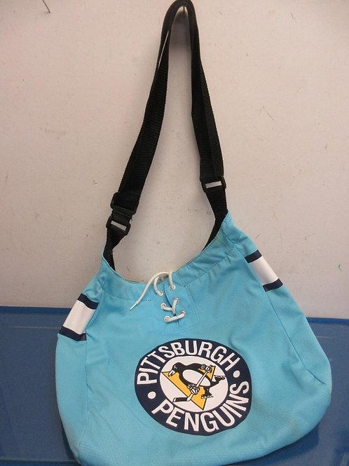 Pittsburgh Penguin blue tote bag