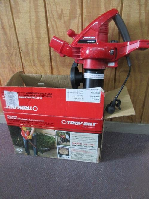 Troybilt electric mulching blower vacuum