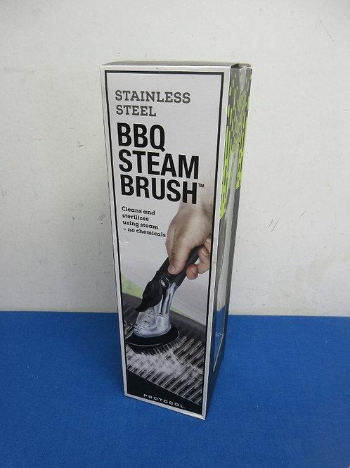 Stainless bbq steam brush, New in box