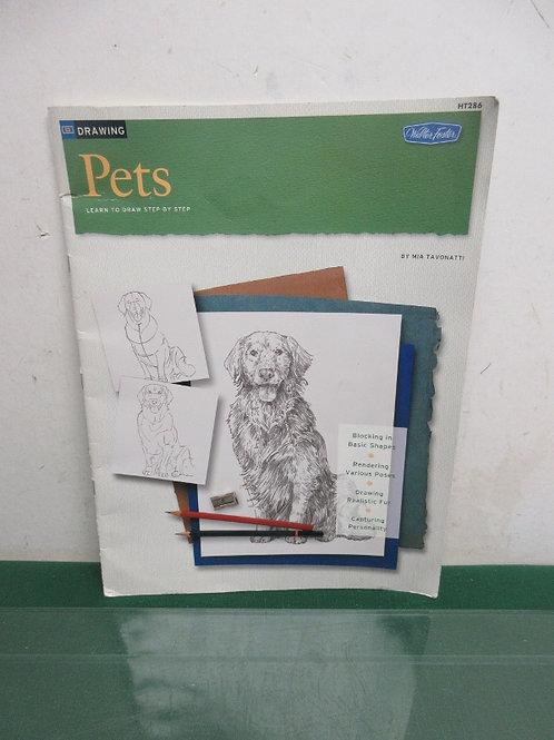 Art book drawing pets