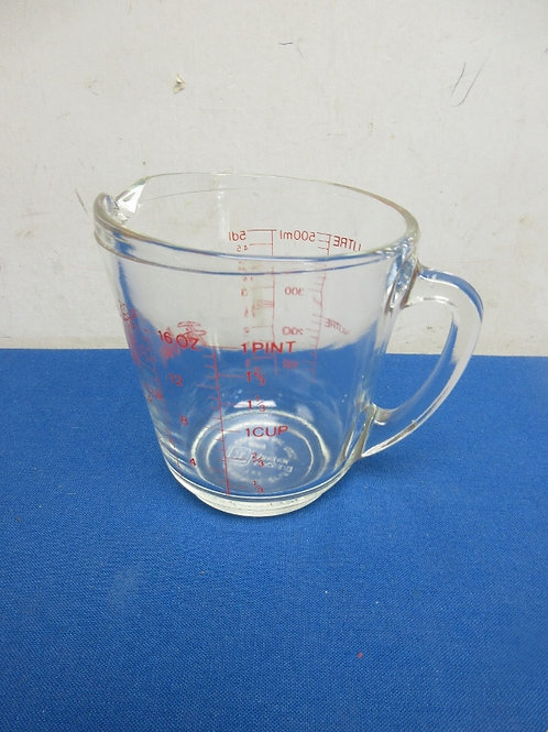 Glass anchor hocking 2 cup measuring cup