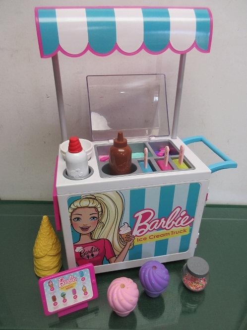 Barbie Ice Cream Cart with accessories