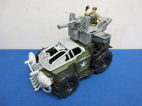Special Forces Army Jeep and GI Joe Figure