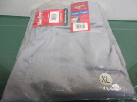 Rawlings men's XL relaxed fit Pro-Dri baseball pants, new never used