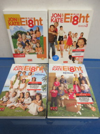 Jon & Kate dvd set - seasons 1, 2, 3 and 4
