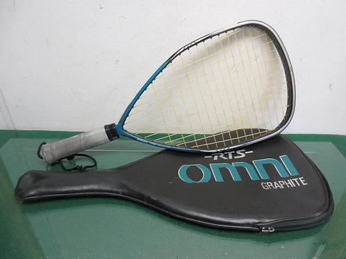 Ektelon Omni graphite racket ball recket in case