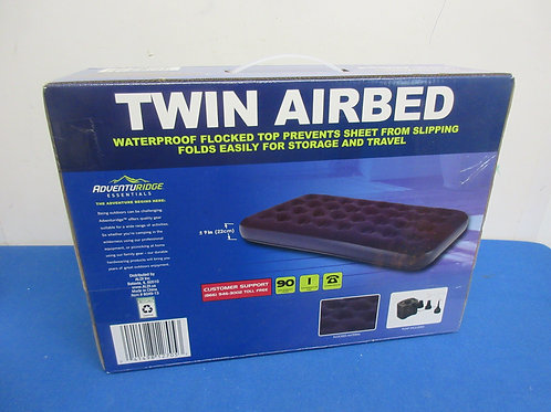 Adventure Ridge twin airbed has battery operated pump