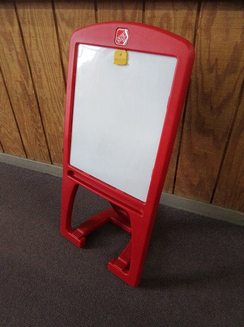 Step 2 white board child size easel