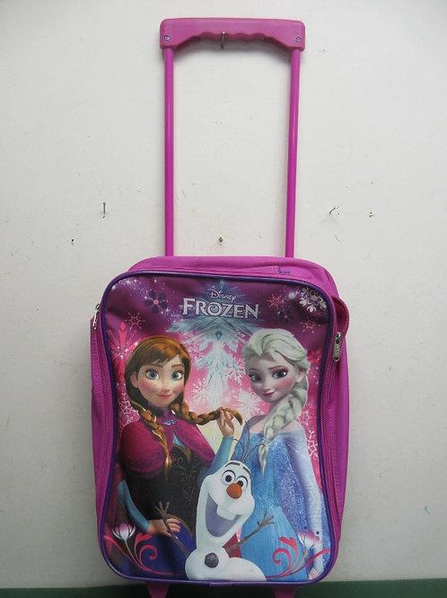 Disney frozen pink suitcase on wheels