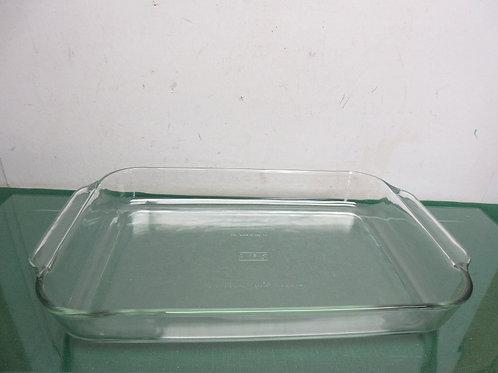 "Pyrex glass rectangular baking dish 10x15"""
