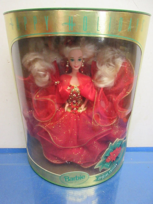 Happy Holidays special ed.Barbie-1993-in original box w/rounded front#10824