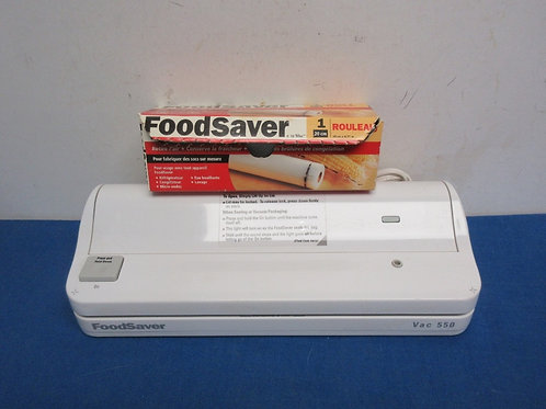 FoodSaver and a few small bags
