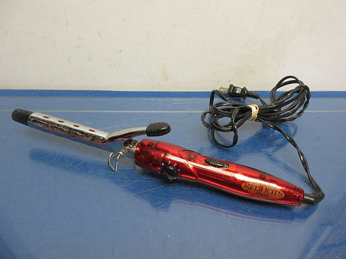 Red Hots red smaller barrel curling iron