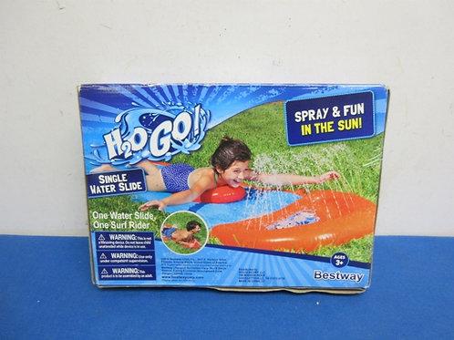 H2O single water slide, new in box