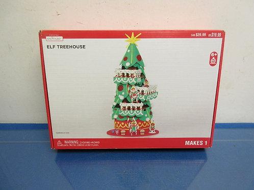 Creatology Elf Treehouse kit, new in box