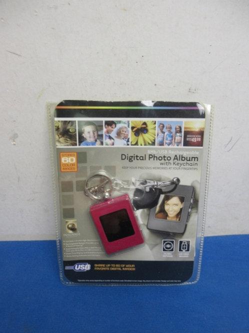 Digital photo keychain, New in pkg