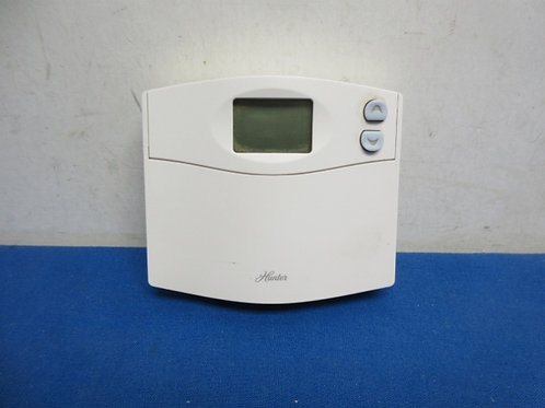 Hunter digital thermostat - sold as is - not tested