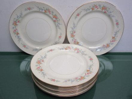 Homer Laughlin Georgian Eggshell a51n5-11 dinner plates