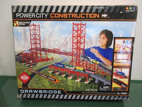 Power City construction drawbridge building set - ages 8+