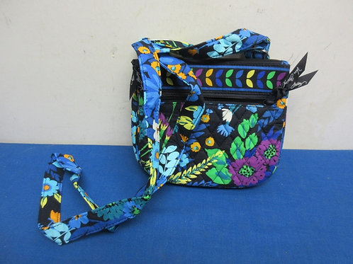 Vera Bradley cross body purse - blue