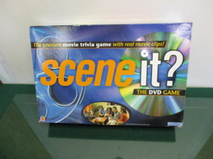 Scene It? DVD game - premiere movie trivia game w/real movie clips - 13 to adult
