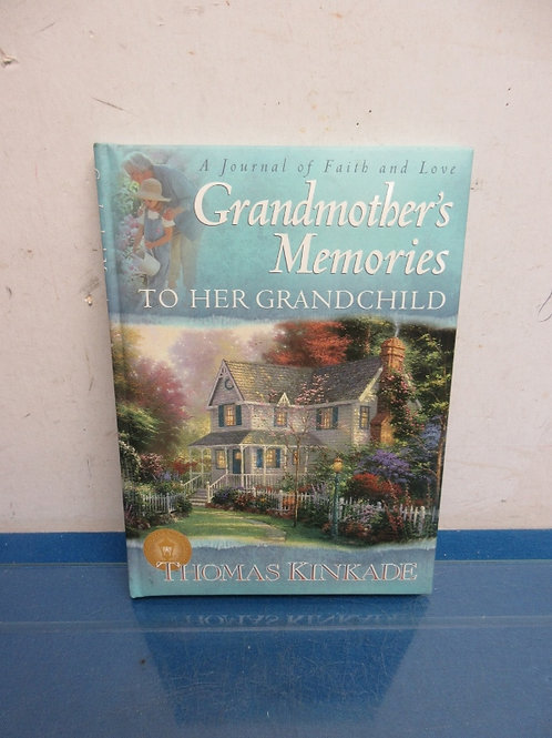 Grandmother's memory book for her grandchildren