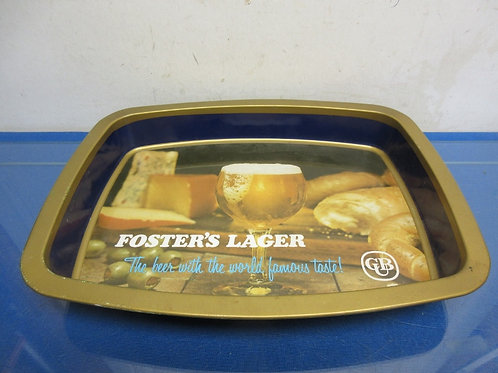 Foster's Lager metal rectangular tray