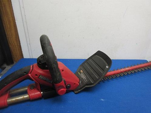 "Craftsman 22"" electric hedge trimmer"