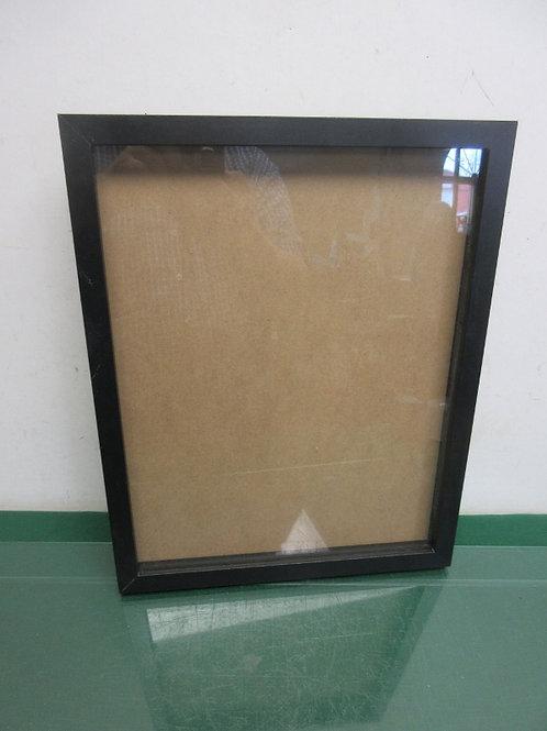 """Black framed shadow box  12x15x 1"""" deep"""