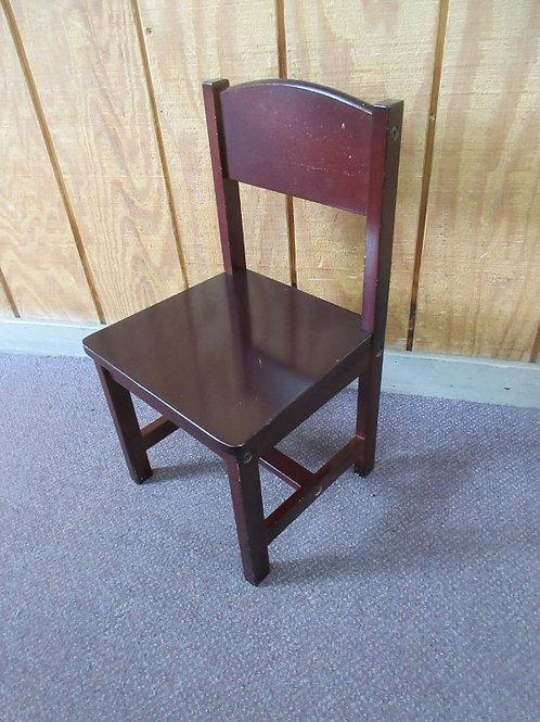KidKraft cherry wooden child's chair