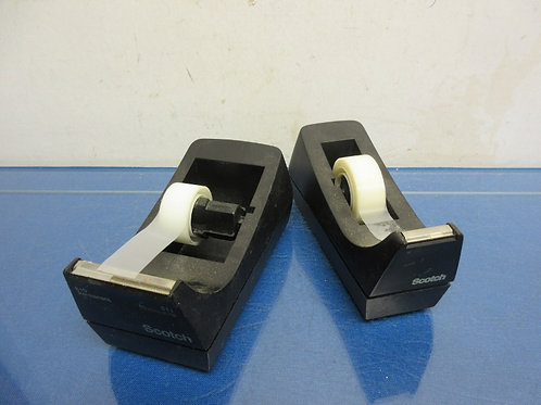 Pair  of desktop scotch tape dispensers
