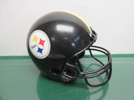 Decorative Pittsburgh Steeler helmet 12x8
