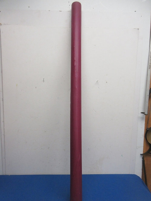 """Large roll of purple plastic table coverings, 40"""" wide"""