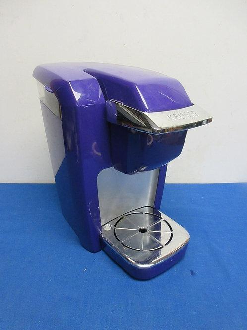 Keurig K-cup purple coffee maker