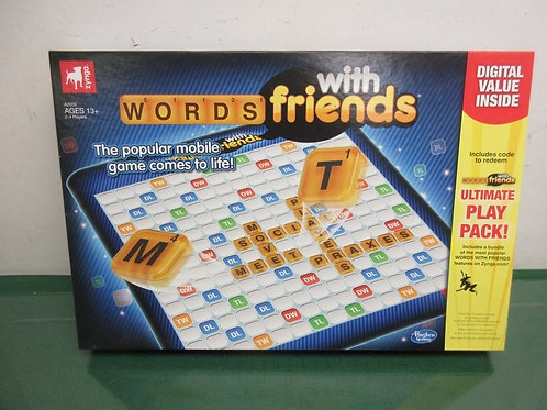 Words with friends board game, ages 13+