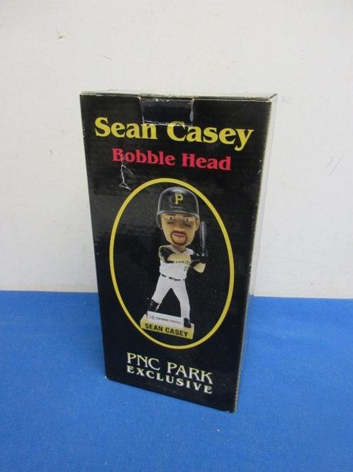 Sean Casey as a Pirate bobblehead in box