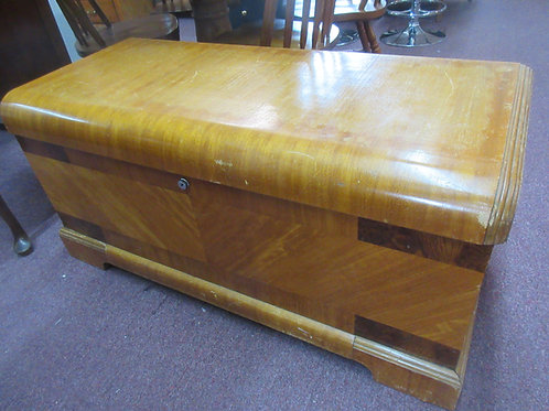 Caswell cedar chest with curved front