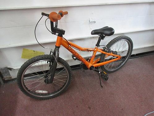 "Burnt orange 20"" Titan bike"