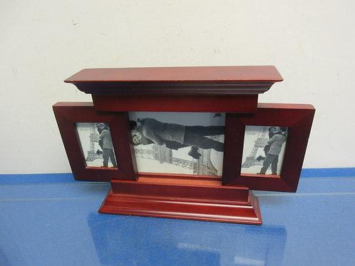Cherry desk top multi picture frame