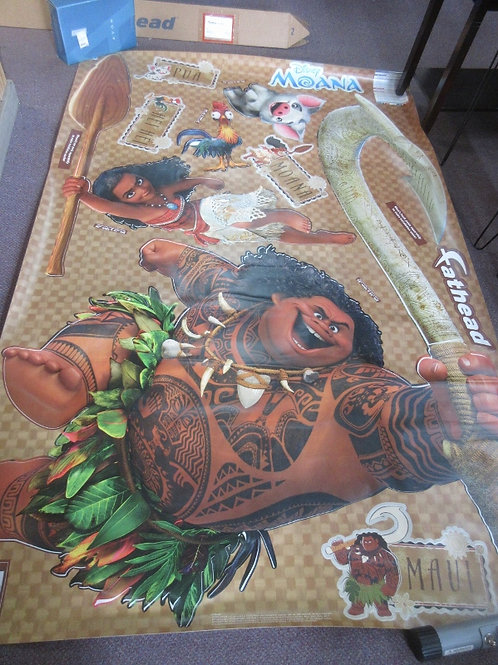 Fathead Disney Moana collection removeable wall decorations